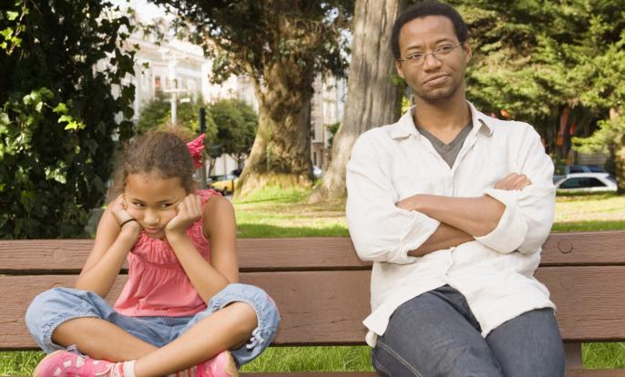 If Dad's Depressed, Kids May Be Too
