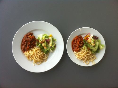 A Great Strategy for Weight Loss Use a Smaller Plate & A Great Strategy for Weight Loss: Use a Smaller Plate |