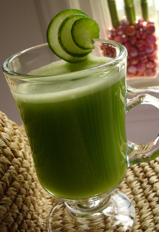 Fresh Juicing for Acne